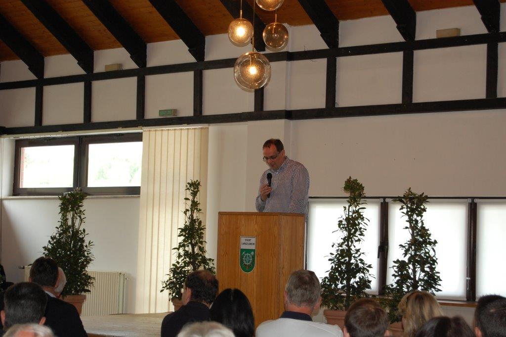 Ingo Henze, Bürgermeister Stadt Langelsheim